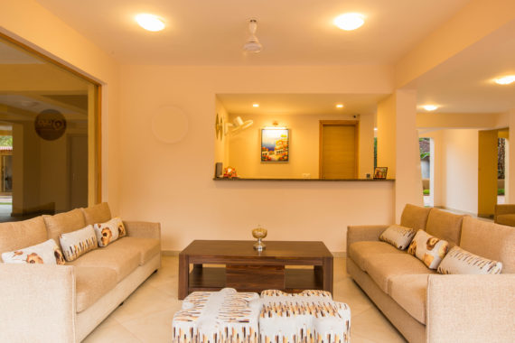 2 BHK Apartment Fully Furnished with Rent Back Option At Candolim Goa